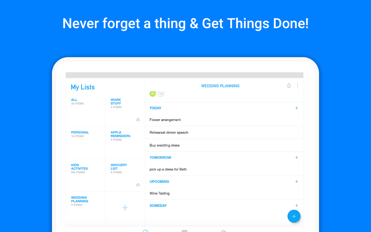 Any.do Calendar: To do list, Reminders & Planner- screenshot