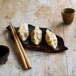 Vegan Instant Pot Steamed Vegetable Dumplings Recipe