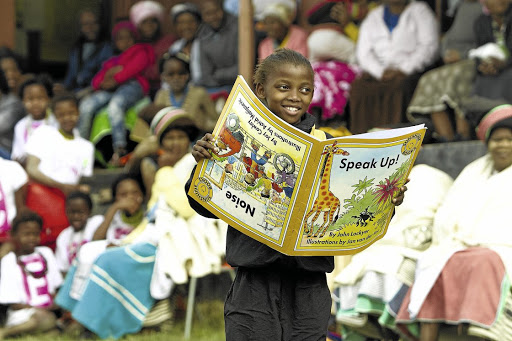 For the books: Studies show rapid strides in literacy at Rally schools. Picture: Mark Andrews