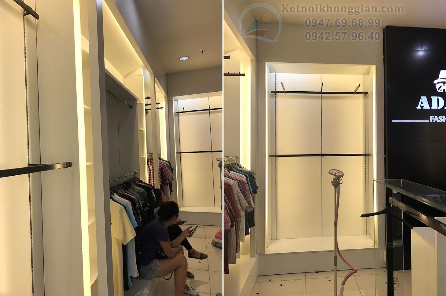 thi công shop thời trang nam uy tín đẹp mắt