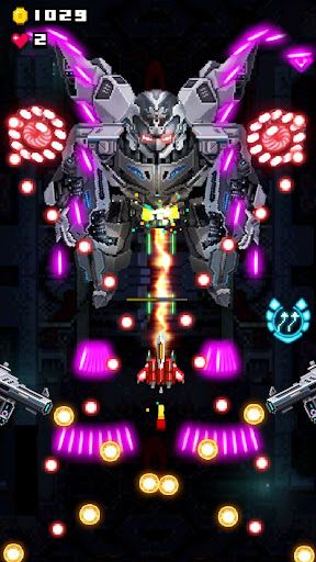 Télécharger Gratuit Retro Space War: Jeux de tir Galaxy Space Attack APK MOD (Astuce) screenshots 1