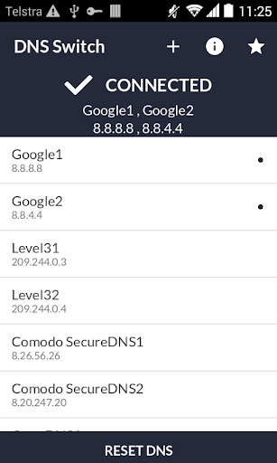 DNS Switch - Unlock Region Restrict 1.6.2 screenshots 2