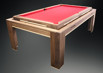 elevated Spartan pool table concept