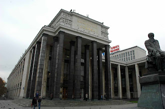 Photo: Lenin Library - Moscow, Russia