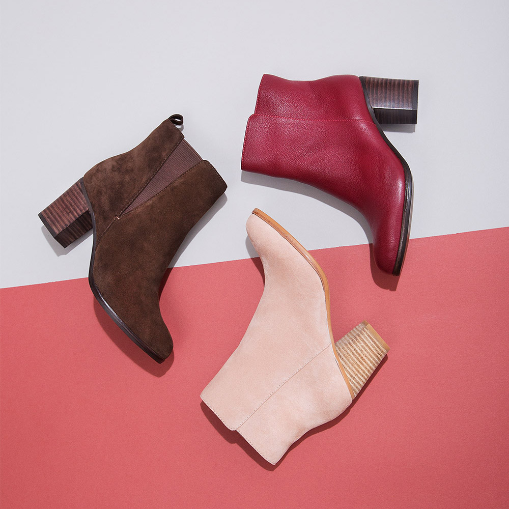 Introducing ankle boots