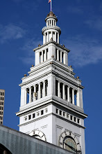 Photo: The Ferry Building is topped by a 245-foot tall Beaux Art clock tower