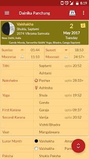 Hindu Calendar - Drik Panchang - náhled