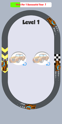Traffic Car Turn - screenshot