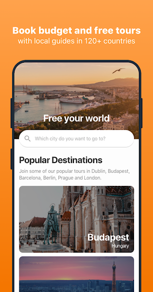 Freetour.com - travel app for budget & free tours
