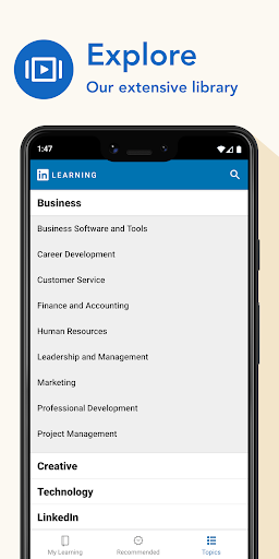 LinkedIn Learning: Online Courses to Learn Skills 0.141.1 Screenshots 7
