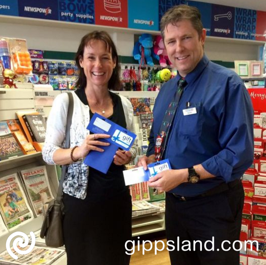 If you live in Central Gippsland - Latrobe City Gift Cards are the perfect way to please your loved ones and friends