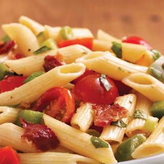 Bacon and Basil Pasta Salad.