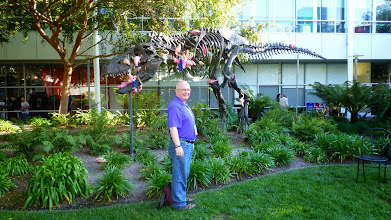 Photo: T-Rex on Google Campus made even more special by +Tasha Bergson-Michelson