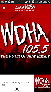 105.5 WDHA Player- screenshot thumbnail