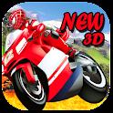 spider moto  recer icon