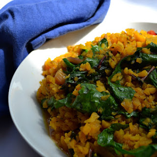 Breakfast Risotto with Greens Recipe
