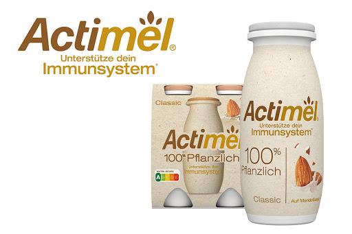 Bild für Cashback-Angebot: Actimel 100% Pflanzlich, Joghurt Drink Classic, 4x100g - Danone
