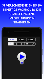 Tägliche Trainings Screenshot