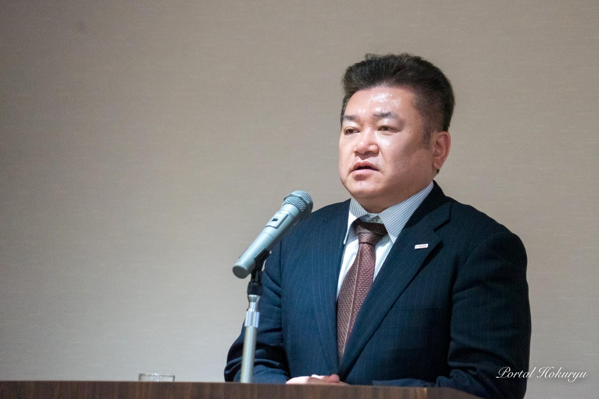 株式会社キョクイチ執行委員 岡本賢和様