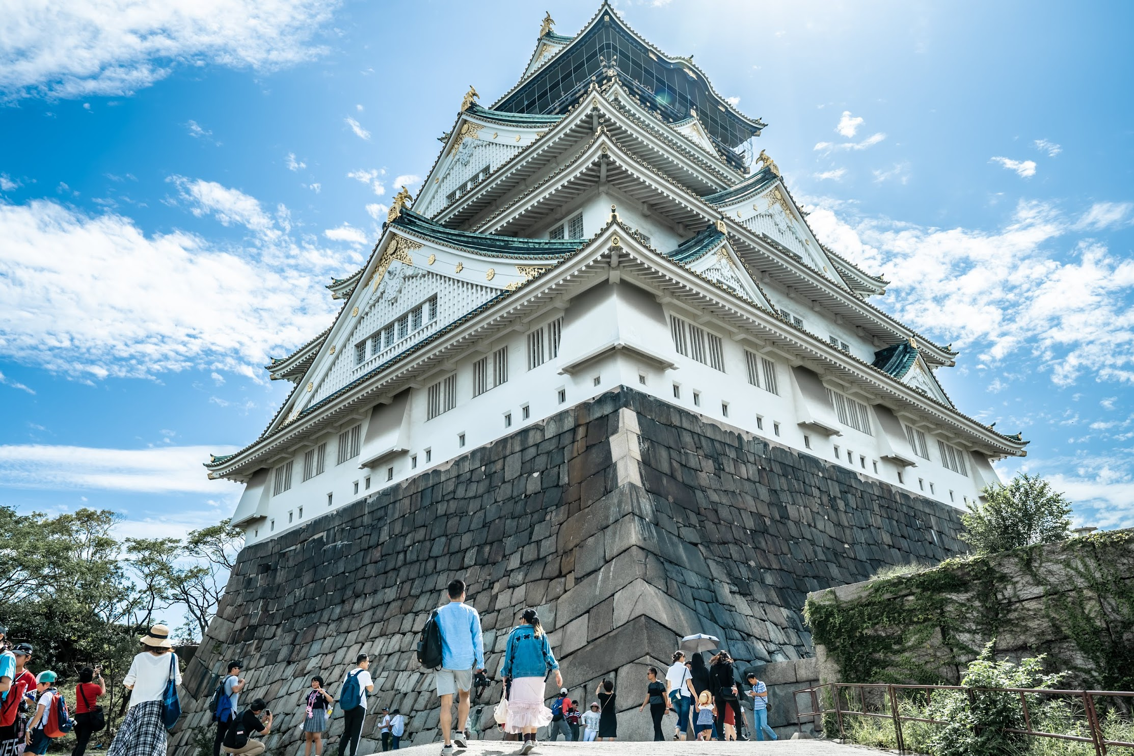 Osaka Castle Tower3