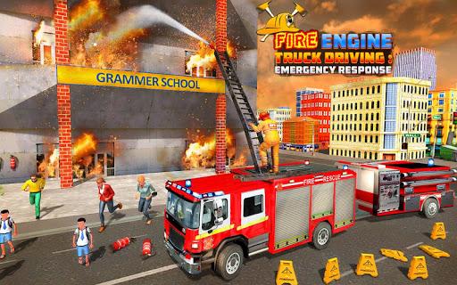 Fire Engine Truck Driving : Emergency Response 1.0.1 screenshots 15