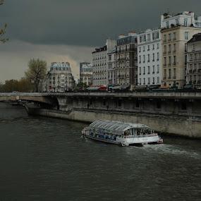 Clouds and river by Dorian Radu - Digital Art Places