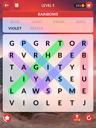 Wordscapes Search - screenshot