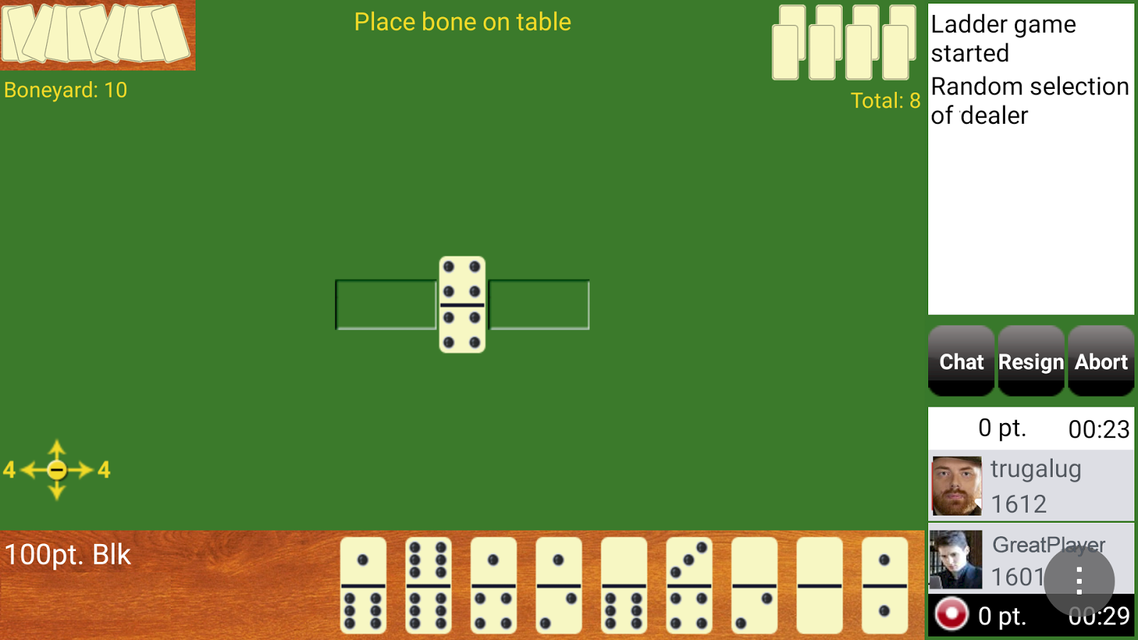 Play Domino- screenshot