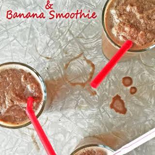 Chocolate & Banana Smoothie.