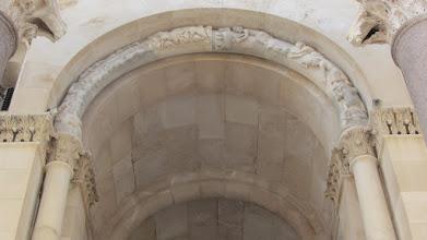 Photo: In het paleis van Diocletianus in Split