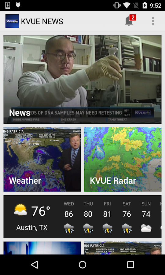 KVUE NEWS- screenshot