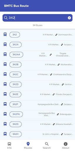 MAJESTIC BMTC HUB - Find Platform & Airport Buses screenshot 5