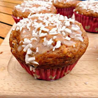 Lighter Coconut and Lime Muffins Recipe