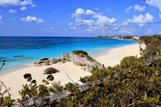 Photo: East coast beaches in Bermuda are stunning. Many are private or owned by resorts, but this one is public.Good snorkeling on the reef just outside the beaches.