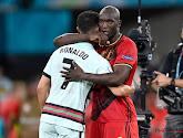 Romelu en CR7 vielen elkaar in de armen na de match