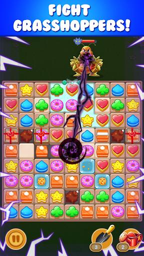 cookie sunflower : match 3 puzzle 1.3.4 screenshots 2