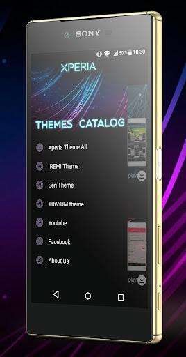玩免費個人化APP|下載Theme Catalog X (Xperia Theme) app不用錢|硬是要APP