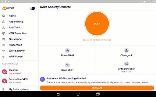 Avast Antivirus u2013 Mobile Security & Virus Cleaner 6.29.1 screenshots 9