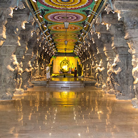 Hall of Thousand Pillars - Madurai, India by Manoj Kumar Kd - Buildings & Architecture Places of Worship