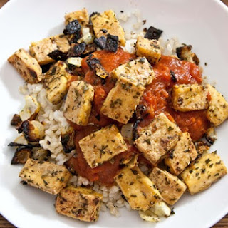 Grill-Baked Tofu