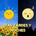 Buenos Días Tardes Noches Gratis - Imágenes y Gifs icon