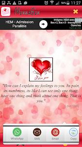 Sweet Love Messages Romantic screenshot 4
