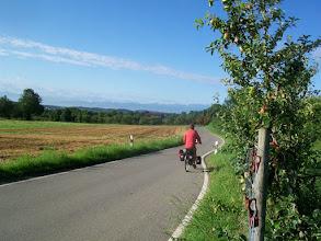 Photo: 9e Dag, vrijdag 24 juli 2009 Obersiggingen - Bludens (Oosterijk) Dag afstand: 125 km, Totaal gereden: 825 km Op weg naar de Bodensee.