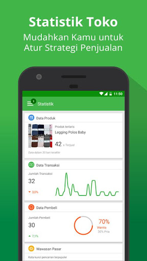 Tokopedia Seller App  screenshots 4