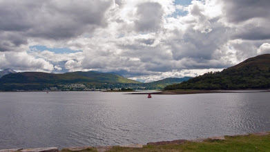 Photo: Fort William from Corpach at start of caledonian canel