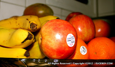 Photo: As accessible and available as my wife keeps our family fruit tray - I rarely eat any of it unless she peels and prepares it for me.