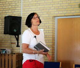 Photo: Foredragsholderen Birgitte Thyssen.