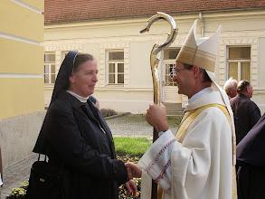 Photo: Begegnungen nach der Messe.
