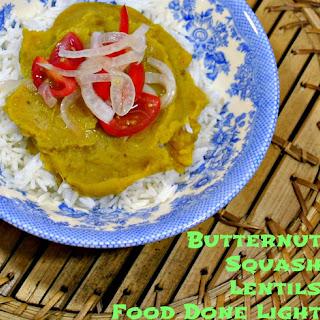 Butternut Squash Lentils