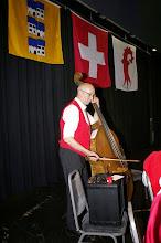 Photo: Unser Bassist Markus Heimgartner mit seinem Verstärker